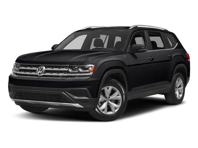 Deep Black Pearl 2018 Volkswagen Atlas Pictures Atlas 3.6L V6 S 4MOTION photos front view