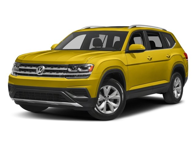Kurkuma Yellow Metallic 2018 Volkswagen Atlas Pictures Atlas 3.6L V6 S 4MOTION photos front view