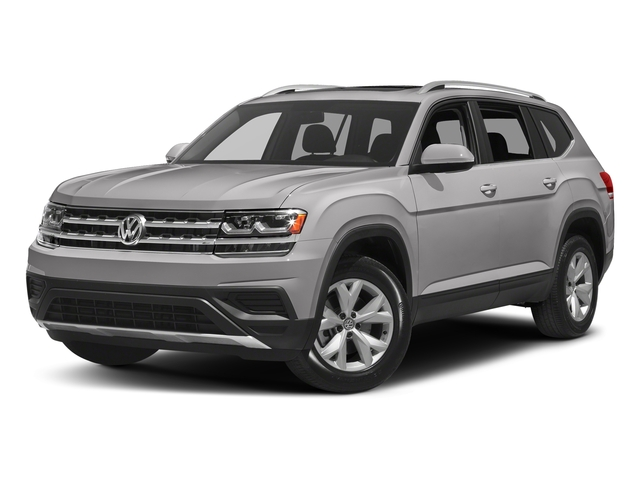 Reflex Silver Metallic 2018 Volkswagen Atlas Pictures Atlas 3.6L V6 SEL 4MOTION photos front view
