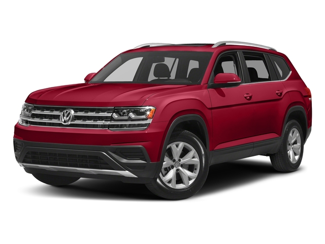 Fortana Red Metallic 2018 Volkswagen Atlas Pictures Atlas 3.6L V6 SEL 4MOTION photos front view