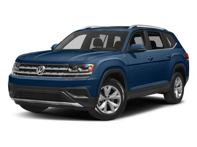Tourmaline Blue Metallic 2018 Volkswagen Atlas Pictures Atlas 3.6L V6 SEL 4MOTION photos front view