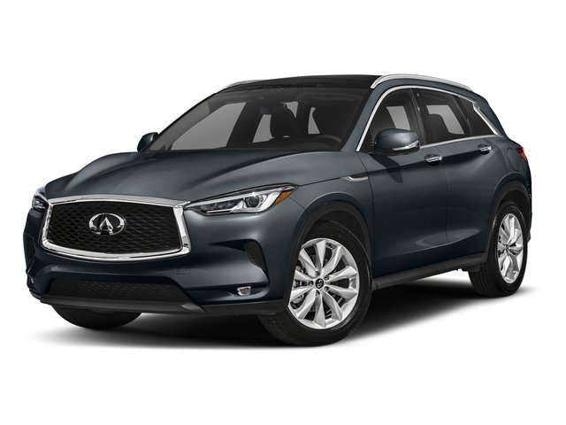 Hermosa Blue 2019 INFINITI QX50 Pictures QX50 LUXE FWD photos front view