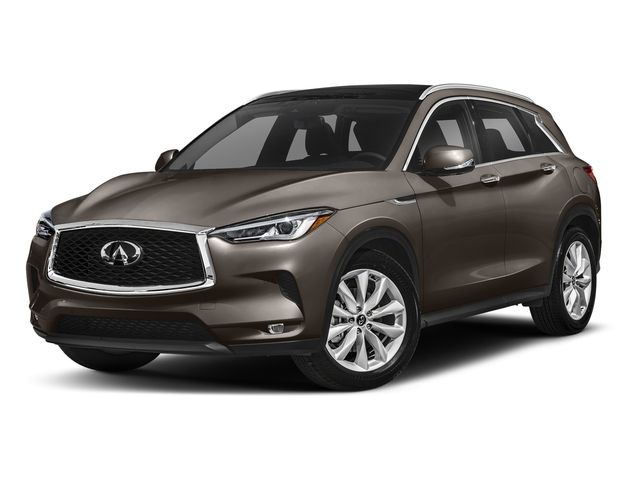 Chestnut Bronze 2019 INFINITI QX50 Pictures QX50 LUXE FWD photos front view