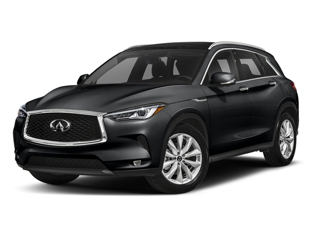 Eclipse Black 2019 INFINITI QX50 Pictures QX50 LUXE FWD photos front view