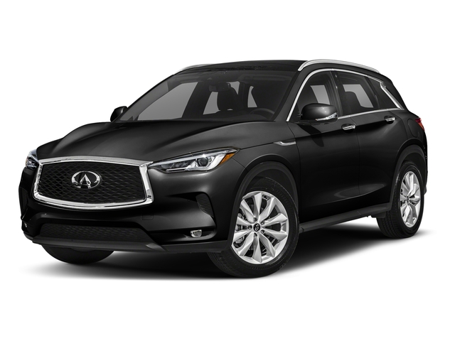Black Obsidian 2019 INFINITI QX50 Pictures QX50 LUXE FWD photos front view
