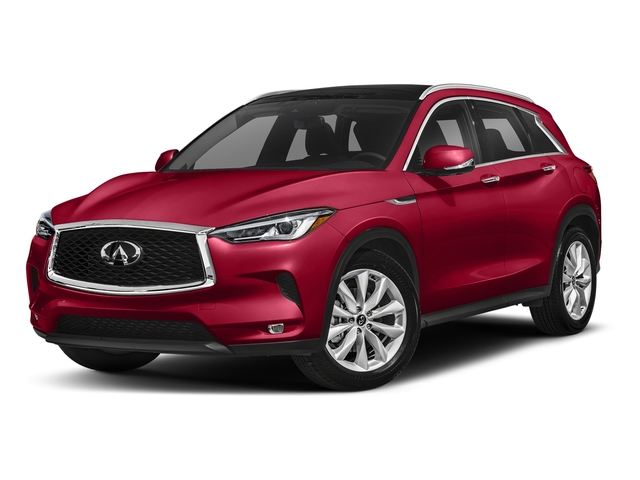 Dynamic Sunstone Red 2019 INFINITI QX50 Pictures QX50 LUXE FWD photos front view