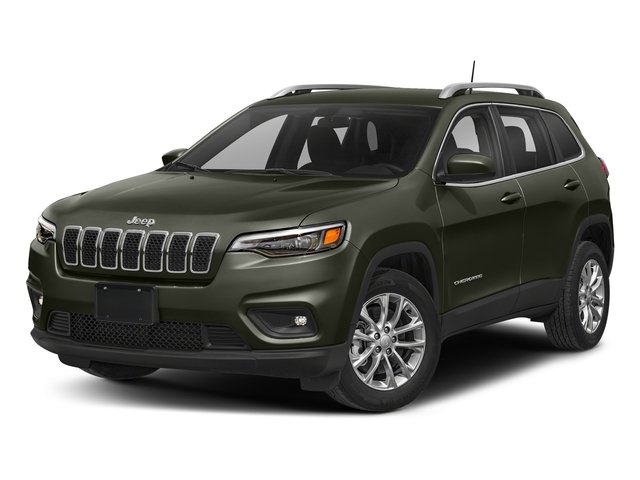 Olive Green Pearlcoat 2019 Jeep Cherokee Pictures Cherokee Latitude Plus FWD photos front view