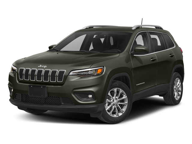 Olive Green Pearlcoat 2019 Jeep Cherokee Pictures Cherokee Latitude FWD photos front view