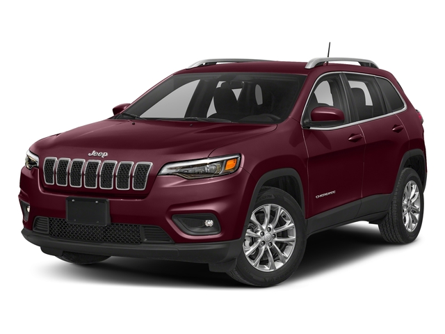 Velvet Red Pearlcoat 2019 Jeep Cherokee Pictures Cherokee Latitude Plus FWD photos front view