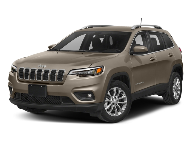 Light Brownstone Pearlcoat 2019 Jeep Cherokee Pictures Cherokee Latitude Plus FWD photos front view