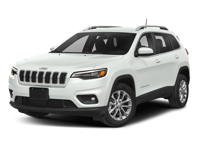 Bright White Clearcoat 2019 Jeep Cherokee Pictures Cherokee Latitude FWD photos front view