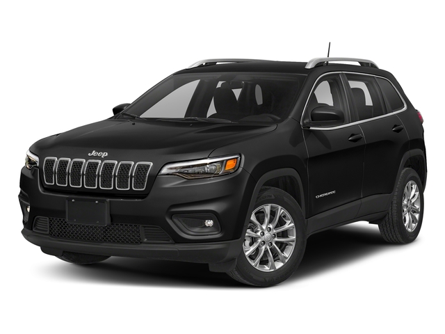 Diamond Black Crystal Pearlcoat 2019 Jeep Cherokee Pictures Cherokee Latitude Plus FWD photos front view