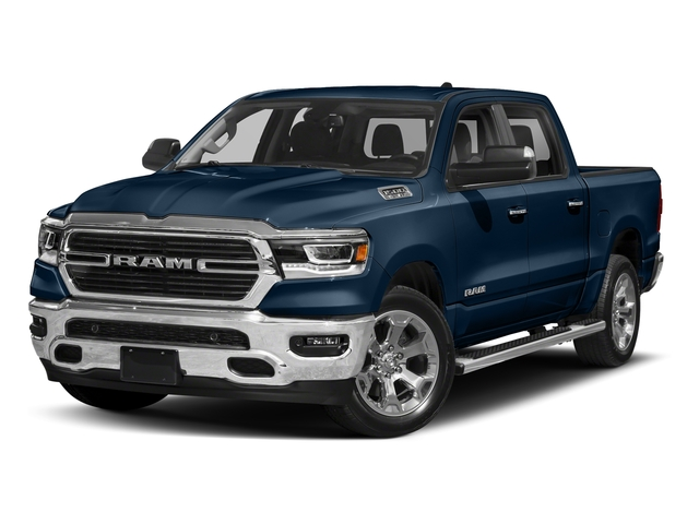 Patriot Blue Pearlcoat 2019 Ram Truck 1500 Pictures 1500 Tradesman 4x4 Crew Cab 5'7 Box photos front view