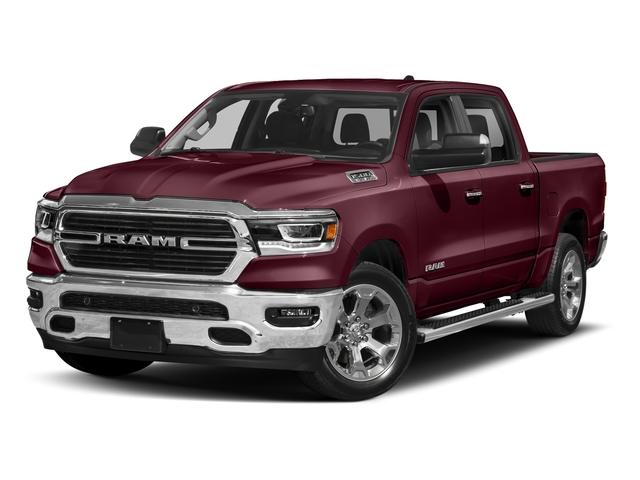 Delmonico Red Pearlcoat 2019 Ram Truck 1500 Pictures 1500 Laramie 4x2 Crew Cab 6'4 Box photos front view