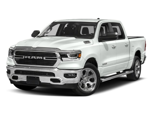 Bright White Clearcoat 2019 Ram Truck 1500 Pictures 1500 Tradesman 4x2 Crew Cab 5'7 Box photos front view