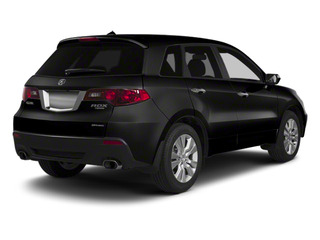 Crystal Black Pearl 2010 Acura RDX Pictures RDX Utility 4D Technology 2WD photos rear view