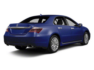 Opulent Blue Pearl 2010 Acura RL Pictures RL Sedan 4D Technology photos rear view