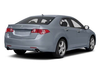 Glacier Blue Metallic 2010 Acura TSX Pictures TSX Sedan 4D photos rear view