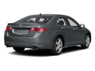 Polished Metal Metallic 2010 Acura TSX Pictures TSX Sedan 4D photos rear view