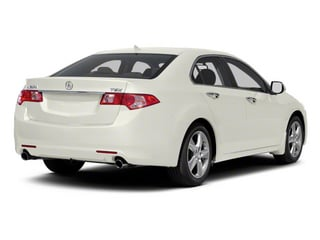 Premium White Pearl 2010 Acura TSX Pictures TSX Sedan 4D photos rear view