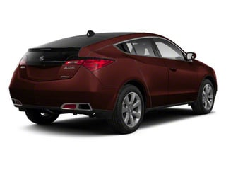Dark Cherry Pearl 2010 Acura ZDX Pictures ZDX Utility 4D Technology AWD photos rear view