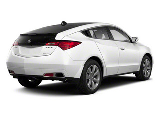 Aspen White Pearl 2010 Acura ZDX Pictures ZDX Utility 4D Technology AWD photos rear view