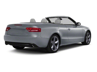 Meteor Gray Pearl 2010 Audi A5 Pictures A5 Convertible 2D S-Line Quattro photos rear view