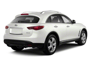Moonlight White 2010 INFINITI FX35 Pictures FX35 FX35 2WD photos rear view