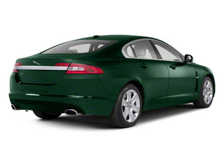 Botanical Green 2010 Jaguar XF Pictures XF Sedan 4D Supercharged photos rear view