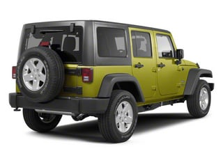 Rescue Green Metallic 2010 Jeep Wrangler Unlimited Pictures Wrangler Unlimited Utility 4D Unlimited Sport 4WD photos rear view