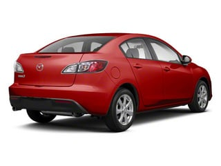 Velocity Red Mica 2010 Mazda Mazda3 Pictures Mazda3 Sedan 4D s photos rear view