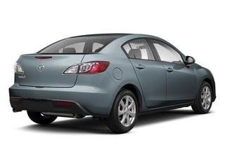 Gunmetal Blue Mica 2010 Mazda Mazda3 Pictures Mazda3 Sedan 4D s photos rear view