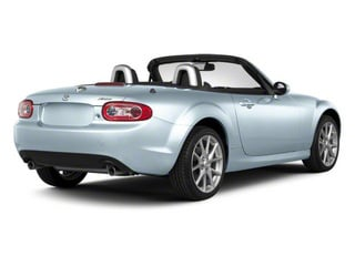 Liquid Silver Metallic 2010 Mazda MX-5 Miata Pictures MX-5 Miata Convertible 2D GT photos rear view