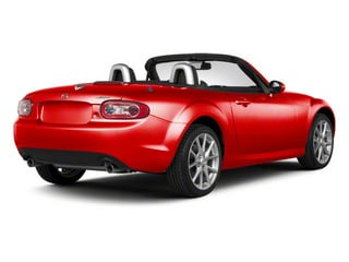 True Red 2010 Mazda MX-5 Miata Pictures MX-5 Miata Convertible 2D Sport photos rear view