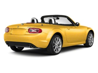 Competition Yellow 2010 Mazda MX-5 Miata Pictures MX-5 Miata Convertible 2D Sport photos rear view