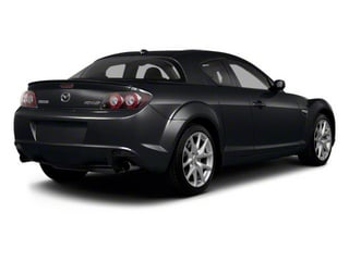 Sparkling Black Mica 2010 Mazda RX-8 Pictures RX-8 Coupe 2D photos rear view