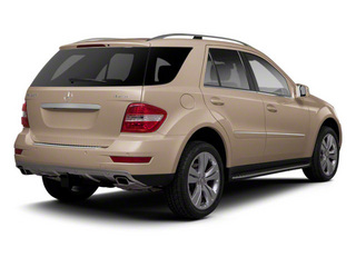 Barolo Red Metallic 2010 Mercedes-Benz M-Class Pictures M-Class Utility 4D ML350 4WD photos rear view