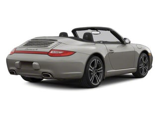 Meteor Grey Metallic 2010 Porsche 911 Pictures 911 Cabriolet 2D Turbo AWD photos rear view