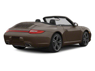 Macadamia Metallic 2010 Porsche 911 Pictures 911 Cabriolet 2D Turbo AWD photos rear view