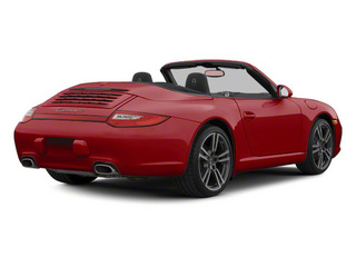 Ruby Red Metallic 2010 Porsche 911 Pictures 911 Cabriolet 2D Turbo AWD photos rear view