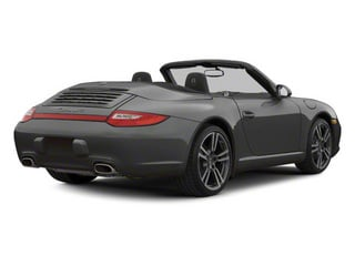 Atlas Grey Metallic 2010 Porsche 911 Pictures 911 Cabriolet 2D 4 AWD photos rear view