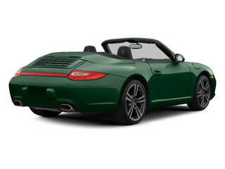 Malachite Green Metallic 2010 Porsche 911 Pictures 911 Cabriolet 2D 4 AWD photos rear view