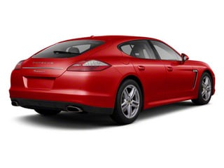 Ruby Red Metallic 2010 Porsche Panamera Pictures Panamera Hatchback 4D Turbo AWD photos rear view