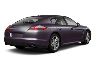 Amethyst Metallic 2010 Porsche Panamera Pictures Panamera Hatchback 4D Turbo AWD photos rear view