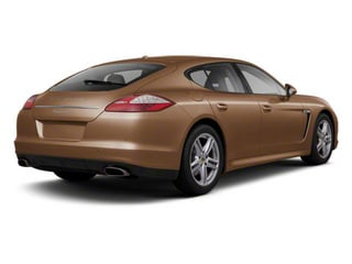 Cognac Metallic 2010 Porsche Panamera Pictures Panamera Hatchback 4D Turbo AWD photos rear view