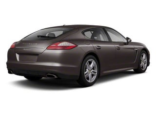 Mahogany Metallic 2010 Porsche Panamera Pictures Panamera Hatchback 4D Turbo AWD photos rear view