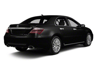 Crystal Black Pearl 2011 Acura RL Pictures RL Sedan 4D Technology photos rear view