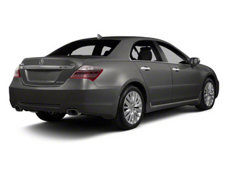Forged Silver Metallic 2011 Acura RL Pictures RL Sedan 4D Advance AWD photos rear view