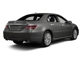 Forged Silver Metallic 2011 Acura RL Pictures RL Sedan 4D Technology photos rear view