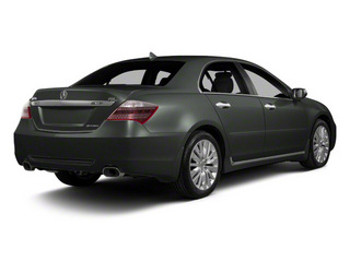 Graphite Luster Metallic 2011 Acura RL Pictures RL Sedan 4D Technology photos rear view